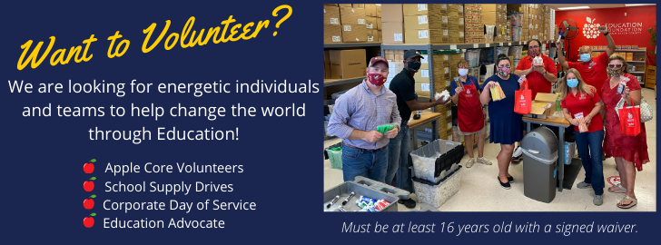 Want to Volunteer? Click to help