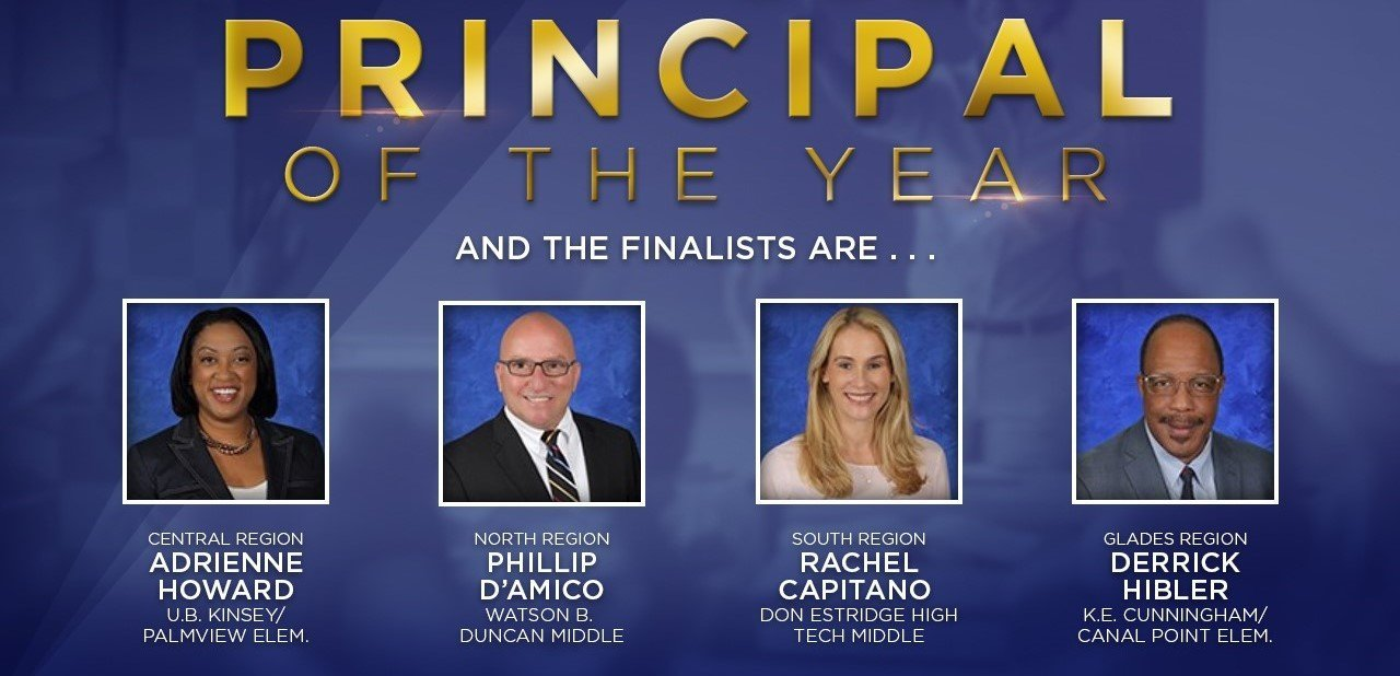 Principal of the Year nominees