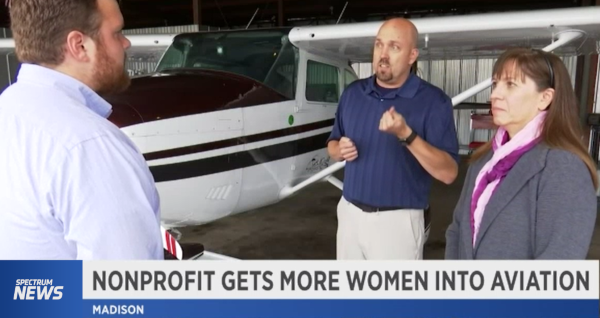 watch the Spectrum1 News feature of PinkTails Aviation