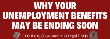 Why Your Unemployment Benefits May By Ending Soon