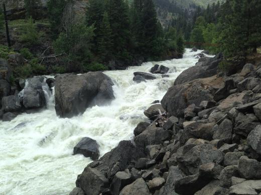 Icicle River Talk
