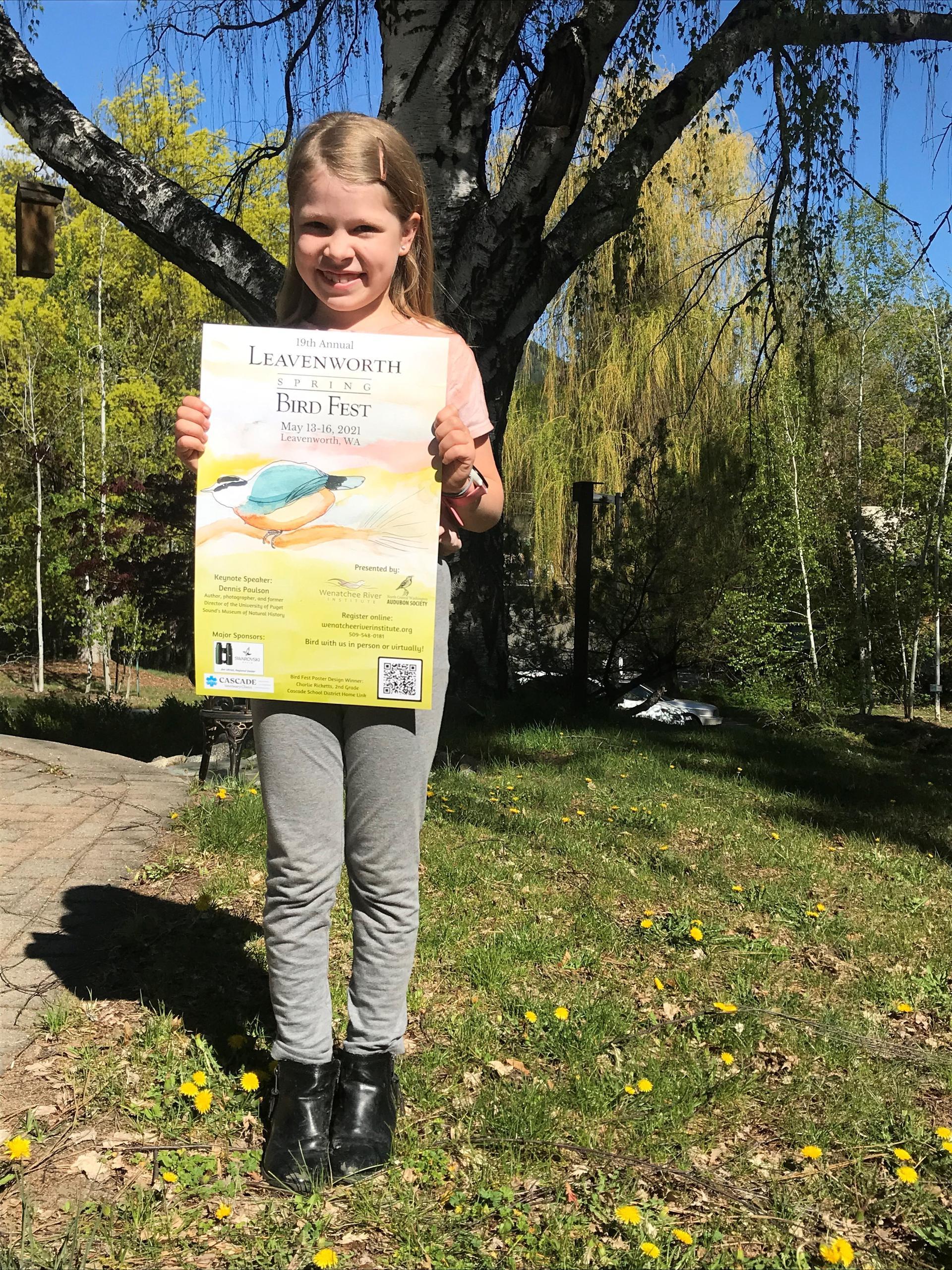 Bird Fest poster winner