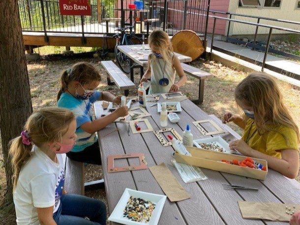 Soil to Snack - Making Seed Art Frames